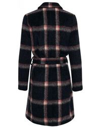 Part Two - Masja Checked Wool Coat - Lyst