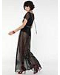 Patrizia Pepe - Long Tulle Dress In Black - Lyst