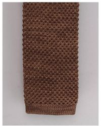 Gibson - Knitted Tie - Lyst