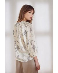 Swildens - Saint Blouse In Ecru - Lyst