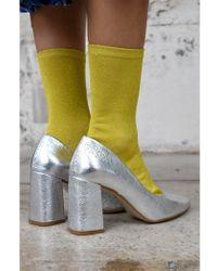 85b2645944e8 Shoe The Bear - Jane Silver Shoes - Lyst