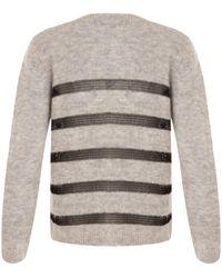 COSTER COPENHAGEN - Stripe Knit - Lyst