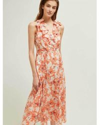Great Plains - Tulum Maxi Dress In Rust - Lyst