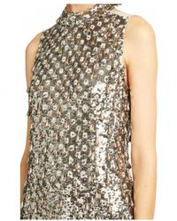 French Connection - Teardrop Embellished Bodycon Dress - Lyst