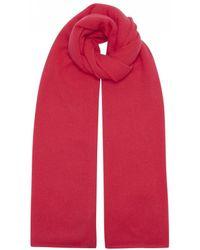 Duffy - Clothing Cashmere Scarf In Geranium - Lyst
