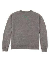 Clare V. - Le Freak C'est Chic Sweatshirt In Grey - Lyst