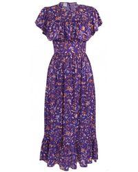 Baum und Pferdgarten - Jannie Purple Dress - Lyst