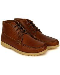 Quoddy Telos Chukka Boot Cavalier Whisky - Brown