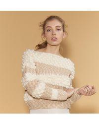 Stella Pardo - Philbert Jumper In Ecru/beige - Lyst