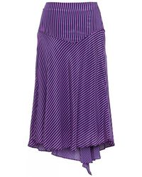 Custommade• - Tini Dress Blues Skirt - Lyst