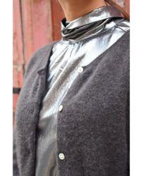 American Vintage - Hanapark Carbon Cardigan - Lyst
