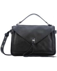 Rebecca Minkoff - Satchel In Black - Lyst