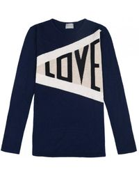 ORWELL + AUSTEN - Love In Navy - Lyst