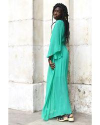 Custommade• - Glenna Jolly Green Dress - Lyst