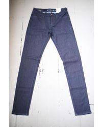 Denham - Spray Yir Dark Blue Skinny Jeans - Lyst