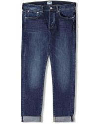 Edwin - Ed80 Slim Tapered Red List Selvage Jeans - Lyst