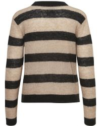 Part Two - Nangelica Pullover With Black/white Stripes - Lyst