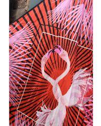 Baum und Pferdgarten - Lacey Pink Flamingo Silk Scarf - Lyst