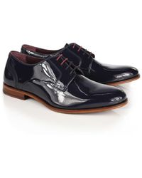 Ted Baker - Men's Iront Patent Derby Shoes - Lyst