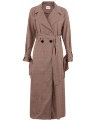 Closet - Wardrobe Tie Cuff Trench Coat - Lyst