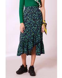 Baum und Pferdgarten - Silva Mint Flowerbed Skirt - Lyst