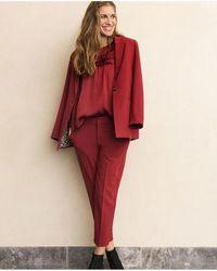 Part Two - Kylie Red Blazer - Lyst