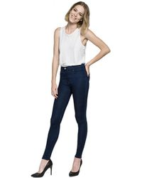 Replay - Touch Skinny Jeans Indigo - Lyst