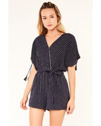 Suncoo - Timothee Blue Night Playsuit - Lyst
