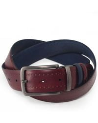 Oliver Sweeney - Reversible Leather Arcidosso Belt - Lyst