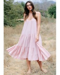 9seed - Condessa Dress Dusty Rose - Lyst