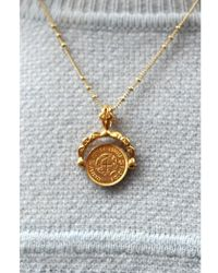 Mirabelle - Coin Charm Necklace - Lyst