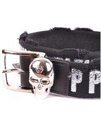 Philipp Plein - Belt In Black - Lyst