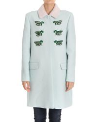 Vivetta - Nara Coat In Green - Lyst