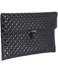 McQ Skull Envelope Clutch - Black