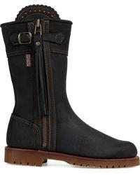 Penelope Chilvers - Women's Midcalf Tassel Boots - Lyst
