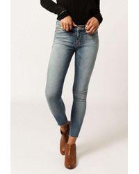 Hudson Jeans - Nico Midrise Ankle Raw Hem Jean - Lyst