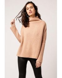 Ryan Roche | Ribbed Oversized Sweater | Lyst