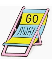 Valley Cruise Press - Go Away Beach Chair Pin - Lyst