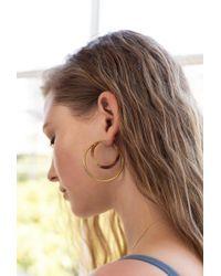 Soko - Natural Gio Hoop Earrings - Lyst