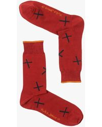 Nudie Jeans - Olsson Socks Crosses - Lyst