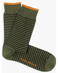 Nudie Jeans - Olsson Socks Striped - Lyst