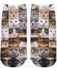 Living Royal - Cat Faces Socks - Lyst