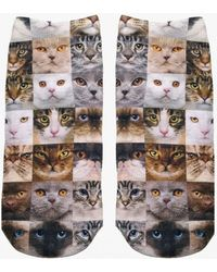 Living Royal | Cat Faces Socks | Lyst
