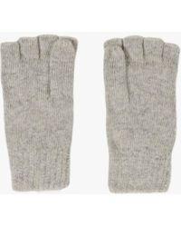 Azalea - Fingerless Mitten Gloves - Lyst