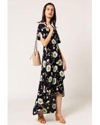 Azalea - Vintage Floral Maxi Dress - Lyst
