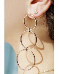Eriness - Triple Hoop Earrings - Lyst