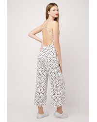 Azalea - Daisy Cross Back Jumpsuit - Lyst