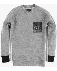 Zanerobe - Stack Crew Sweatshirt - Lyst