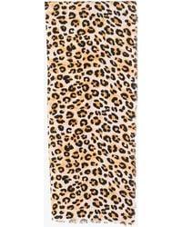 Azalea - Spotted Leopard Blanket Scarf - Lyst