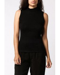 Objects Without Meaning - Mock Neck Tank - Lyst